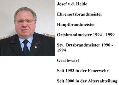 Heide, v.d. Josef